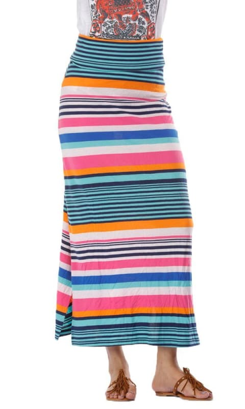 Stripe Skirt Or Dress - Multicolour - women skirts