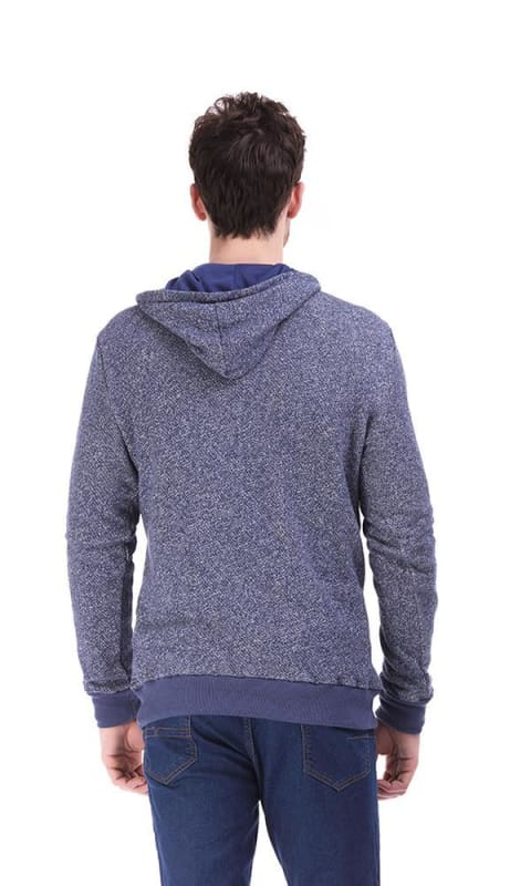 Toggle Hoodie - Heather Teal - male hoodies & sweatshirts