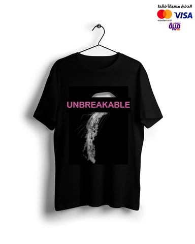Unbreakable  -Digital Graphics Basic T-shirt black