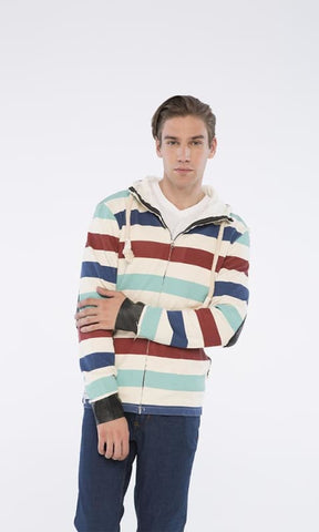 Wild Stripes Sweatshirt - Multicolour - male hoodies & sweatshirts