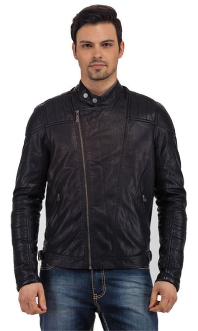 Zip Up Jacket - Black - male coats & jackets