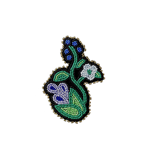 Anishinaabe floral sticker