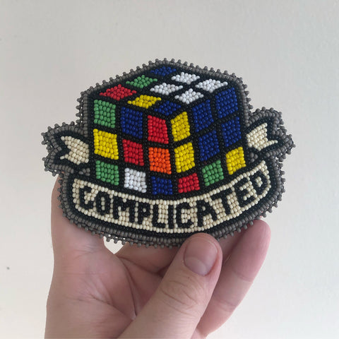 'complicated' pin
