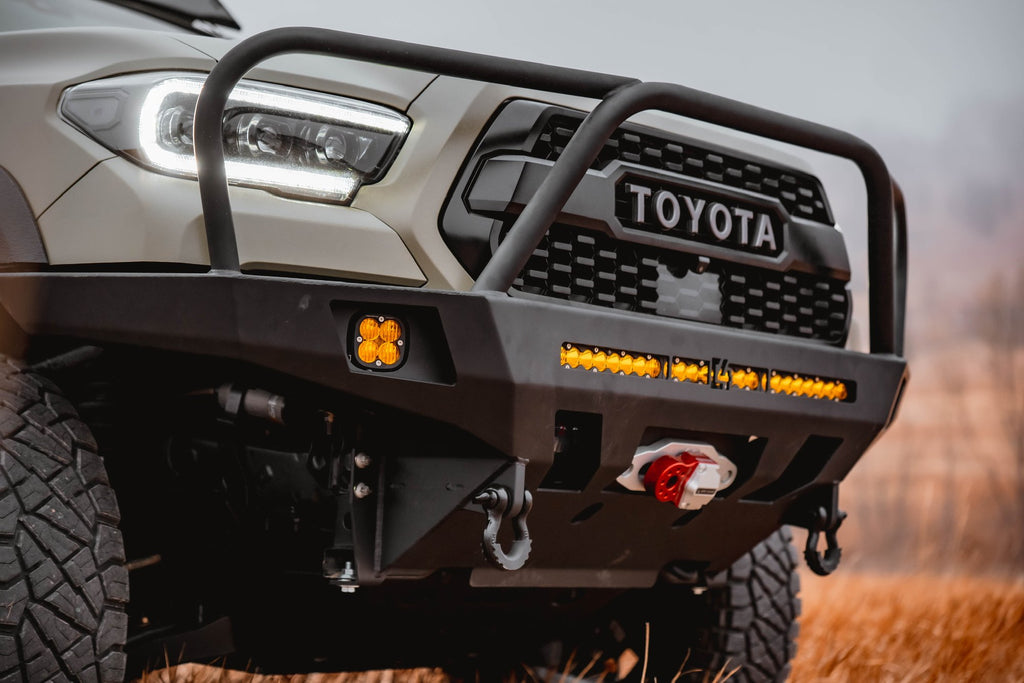 C4 Fabrication Overland Series Front Bumper - Toyota Tacoma (2016-2021)-Truck Brigade