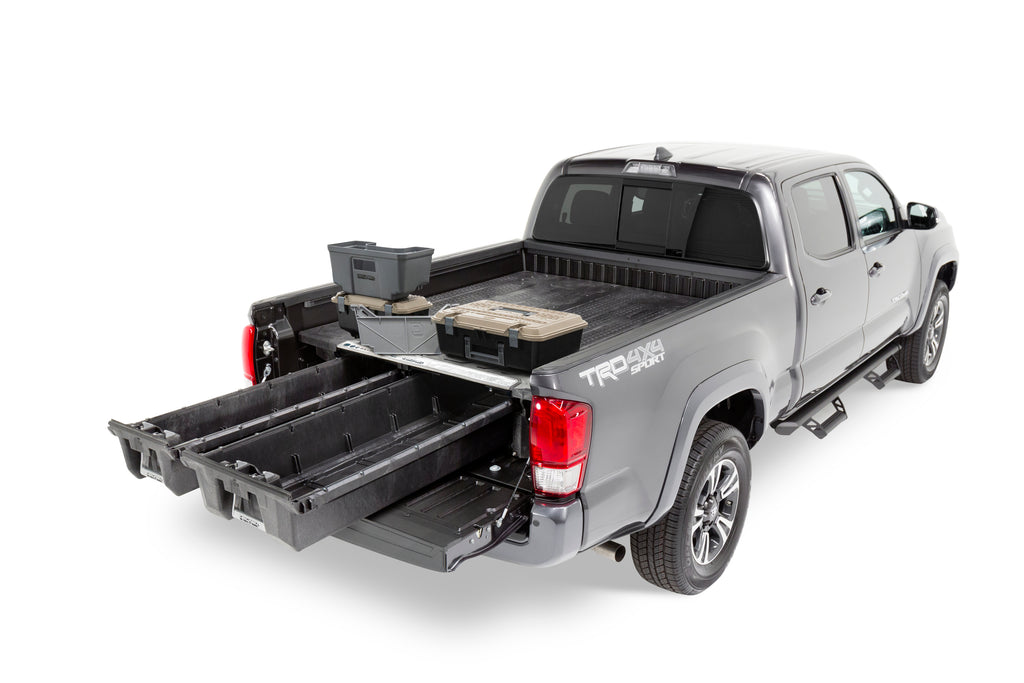 DECKED Truck Bed Storage System - DECKED Out Package - Toyota Tacoma (2005-2018)-Truck Brigade