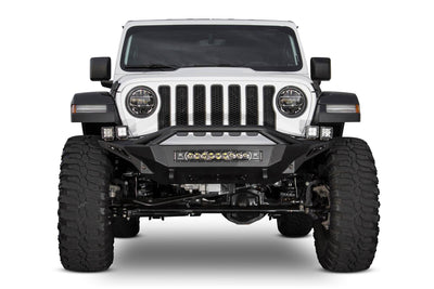 Addictive Desert Designs Stealth Fighter with Hoop Front Bumper - Jeep Gladiator (2020)-Truck Brigade