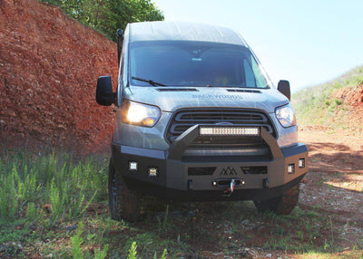 Backwoods Adventure Mods Nomad Series Front Bumper - Ford Transit (2015-2019)-Truck Brigade