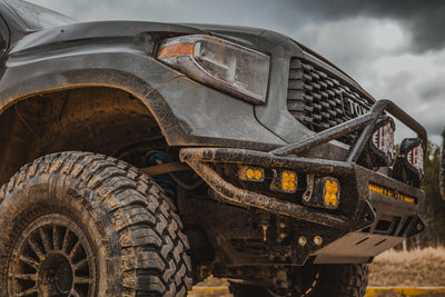 C4 Fabrication Hybrid Front Bumper - Toyota Tundra (2014-2020)-Truck Brigade