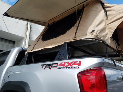 C4 Fabrication Mid-Height Bed Rack - Toyota Tacoma (2016-2020)-Truck Brigade