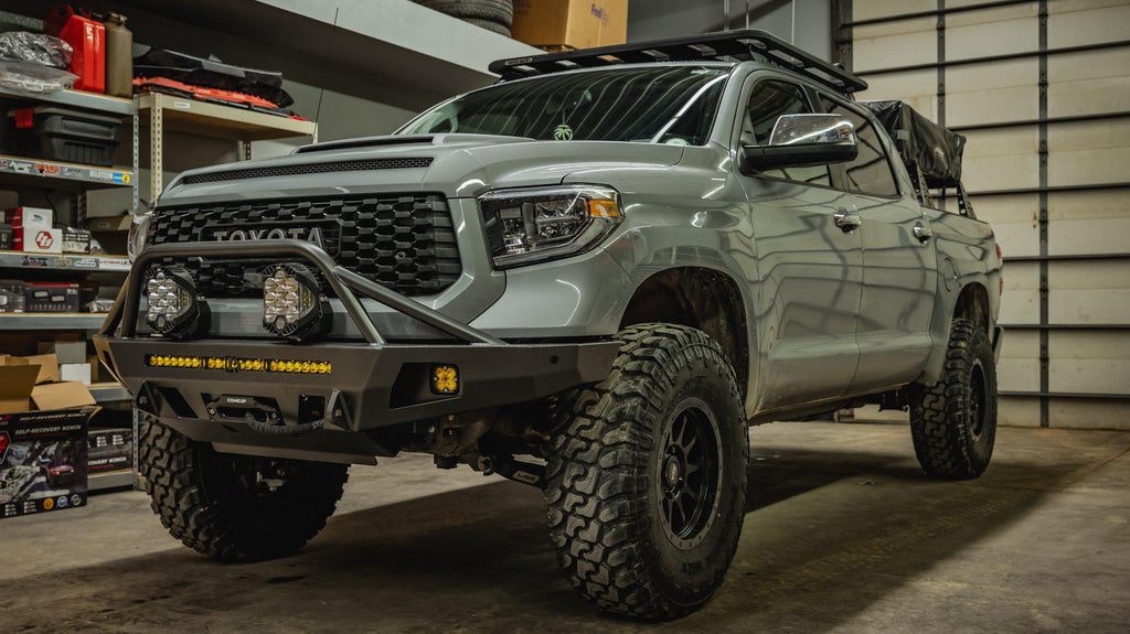 C4 Fabrication Overland Series Front Bumper - Toyota Tundra (2014-2020)-Truck Brigade