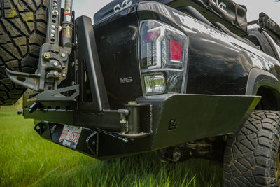 C4 Fabrication Overland Series High Clearance Rear Bumper - Toyota Tacoma (2016-2020)-Truck Brigade