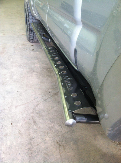 C4 Fabrication Rock Sliders - Toyota Tacoma (2005-2015)-Truck Brigade