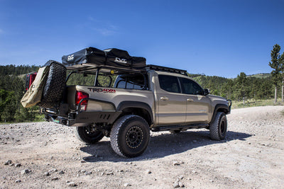 C4 Fabrication Rock Sliders - Toyota Tacoma (2016-2020)-Truck Brigade