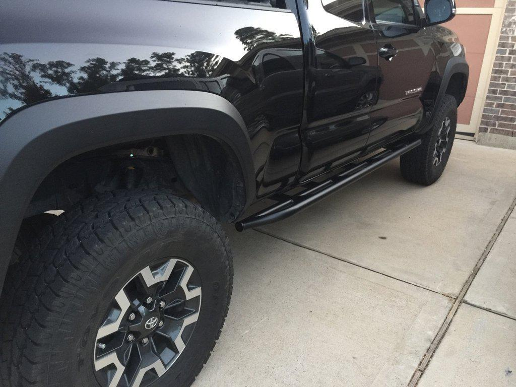 CBI Offroad Bolt-On Rock Sliders - Toyota Tacoma (2005-2015)-Truck Brigade