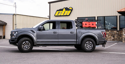 CBI Offroad Cab Height Bed Rack - Ford Raptor 2017-2020)-Truck Brigade