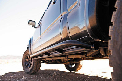 CBI Offroad Classic Weld-On Rock Sliders - Toyota 4Runner (2003-2009)-Truck Brigade