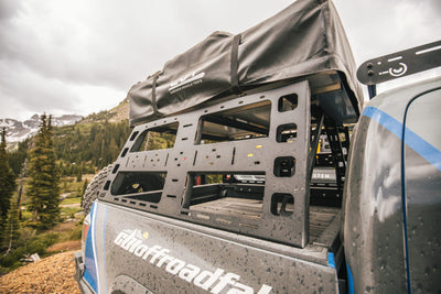 CBI Offroad Roof Rack Height Bed Rack - Toyota Tacoma (2005-2020)-Truck Brigade