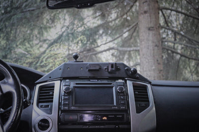 Expedition Essentials 2TPAM USB Powered Accessory Mount - Toyota Tacoma (2012-2015)-Truck Brigade