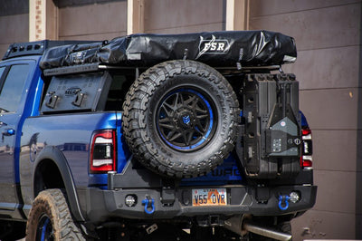 Expedition One Dual Swing Out Rear Bumper - RAM 2500 (2019-2021)-Truck Brigade