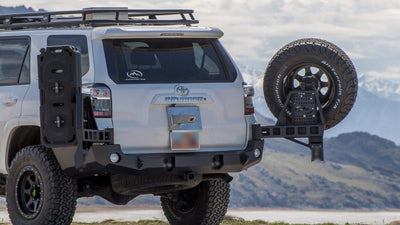 Expedition One Dual Swing Out Rear Bumper - Toyota 4Runner (2010-2013)-Truck Brigade