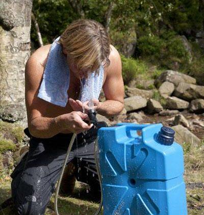 LifeSaver Jerrycan Shower Attachment-Truck Brigade