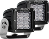 RIGID Industries D-Series PRO Lights (Pair - Black Housing White Light)-Truck Brigade