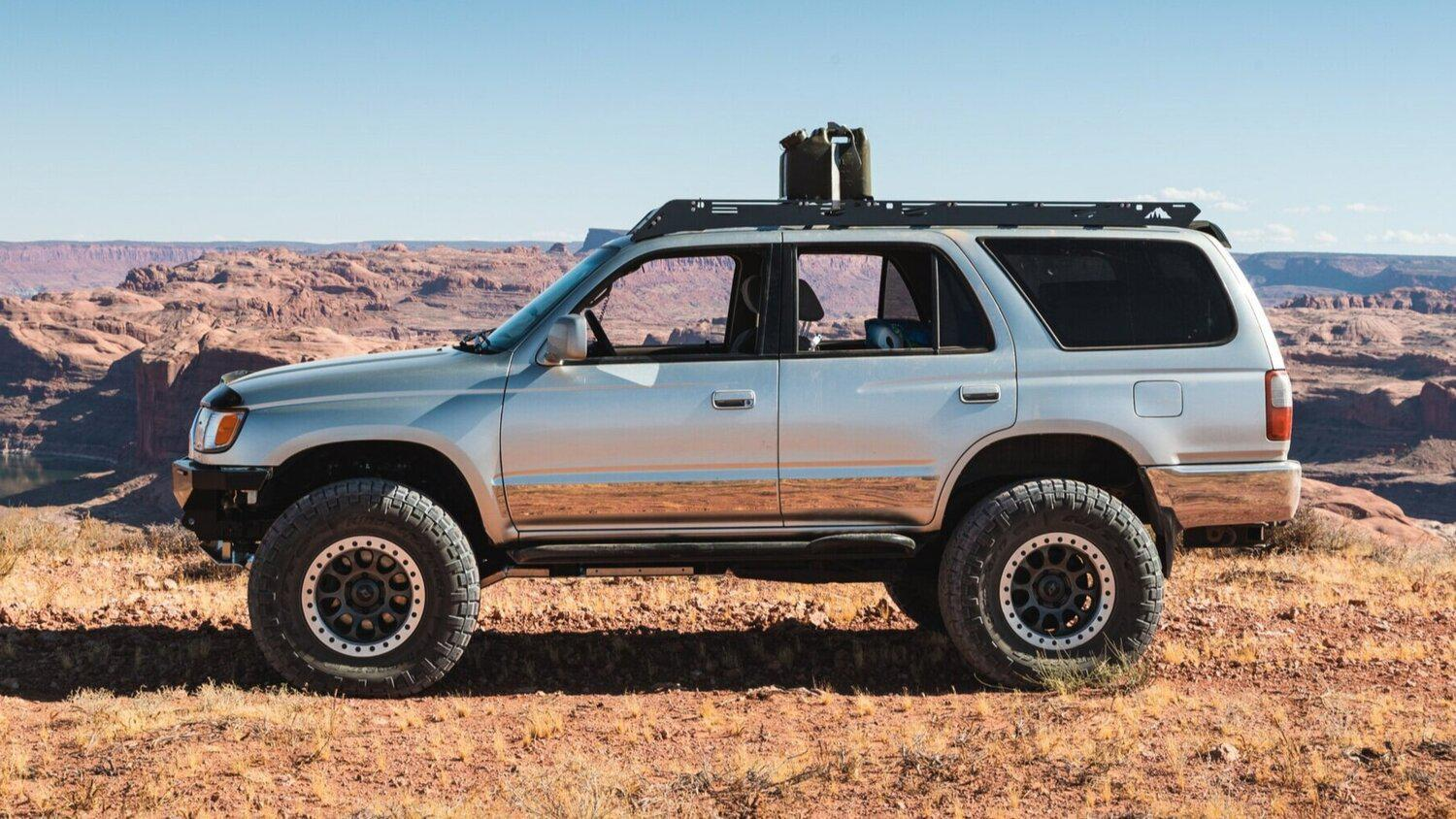 Sherpa Equipment Co The Matterhorn Mkii Roof Rack Toyota 4runner 1 Truck Brigade