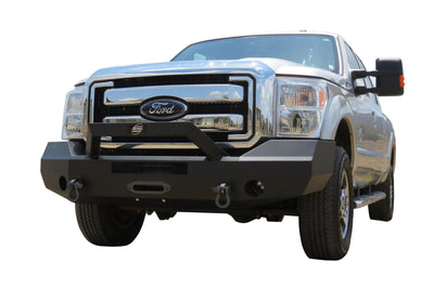 Steelcraft Elevation Bullnose Front Bumper - Ford F250/F350 (2017-2019)-Truck Brigade