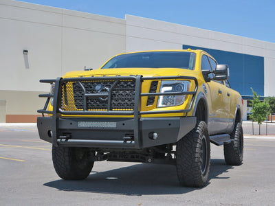 Steelcraft HD Elevation Front Bumper - Nissan Titan XD (2016-2018)-Truck Brigade