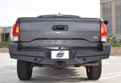 Steelcraft HD Elevation Rear Bumper - Toyota Tacoma (2005-2015)-Truck Brigade