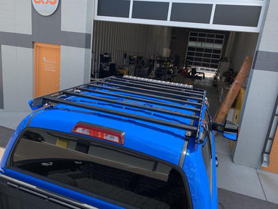 upTOP Overland Alpha CrewMax Roof Rack - Toyota Tundra (2014-2021)-Truck Brigade