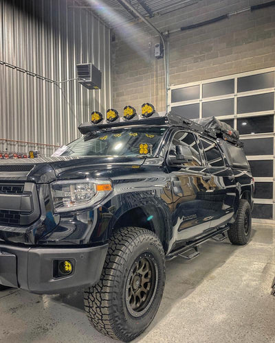 upTOP Overland Alpha CrewMax Roof Rack - Toyota Tundra (2014-2020)-Truck Brigade