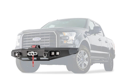 Warn Ascent Front Bumper - Ford F150 (2015-2017)-Truck Brigade