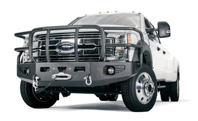 Warn Heavy Duty Front Bumper with Grille/Brush Guard - Ford F250/F350/F450 (2017-2019)-Truck Brigade