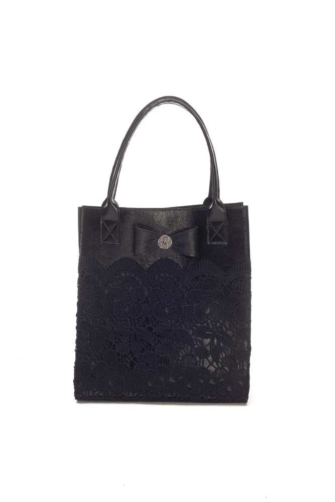 Black Lace Bag