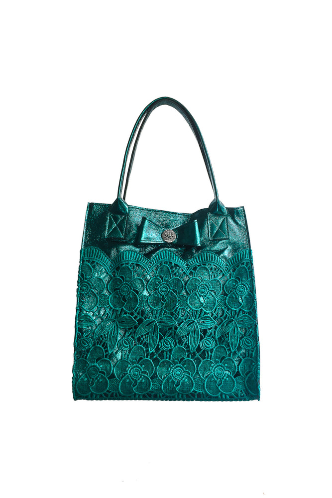 Mint Lace Bag