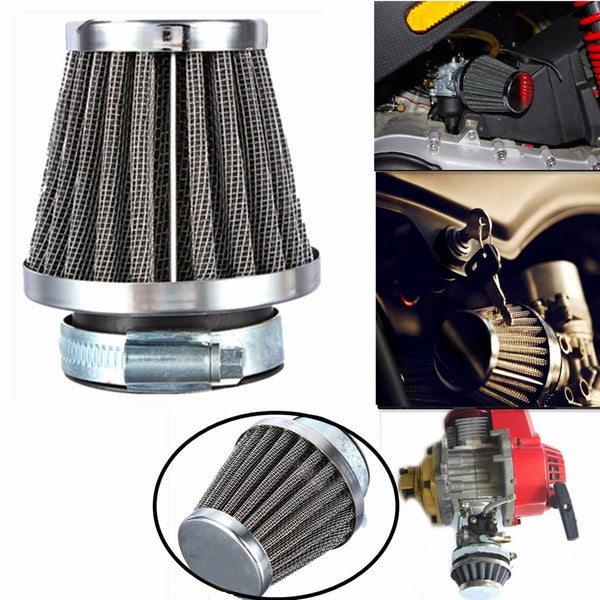 Universal MOTORCYCLE ATV Pit Dirt Quad Street Racing Bike AIR FILTER POD 35 38 39 42 46 48 50 52 54 60 mm