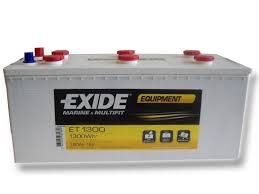 Wohnmobil Batterie Exide ET1300 Equipment Glassmat 12V 180AH 1300WH - CamperClan Shop