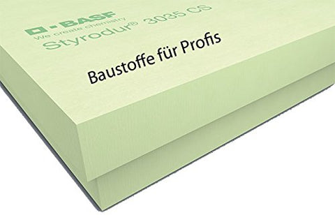 BASF Styrodur 3035CS 80mm 3,75m² Paket XPS - CamperClan Shop
