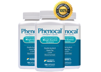 Three Bottles of Phenocal Plus