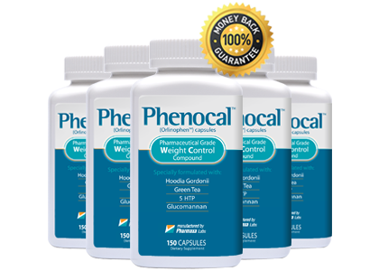 Five Bottles of Phenocal Plus