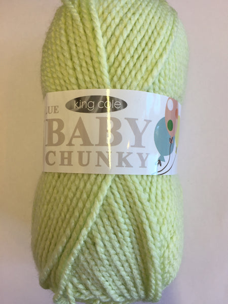 King Cole Baby Chunky 2514 Lime