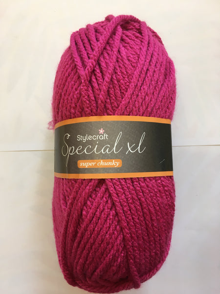 Stylecraft XL Super Chunky Fuchsia Purple