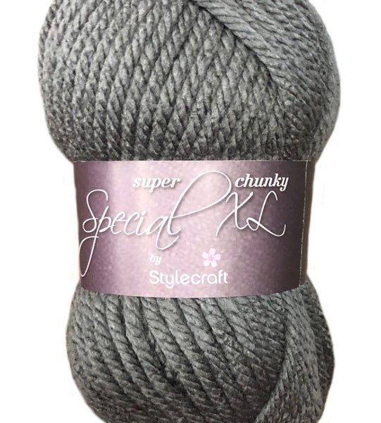 Stylecraft XL Super Chunky Graphite