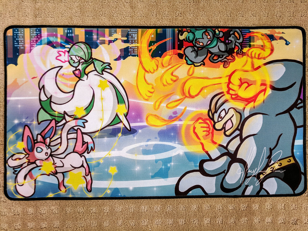 Fight's On! (Fan Art) - Playmat