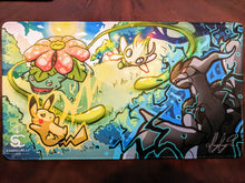 Load image into Gallery viewer, Skirmish in the Field (Fan Art) - Playmat 2nd run