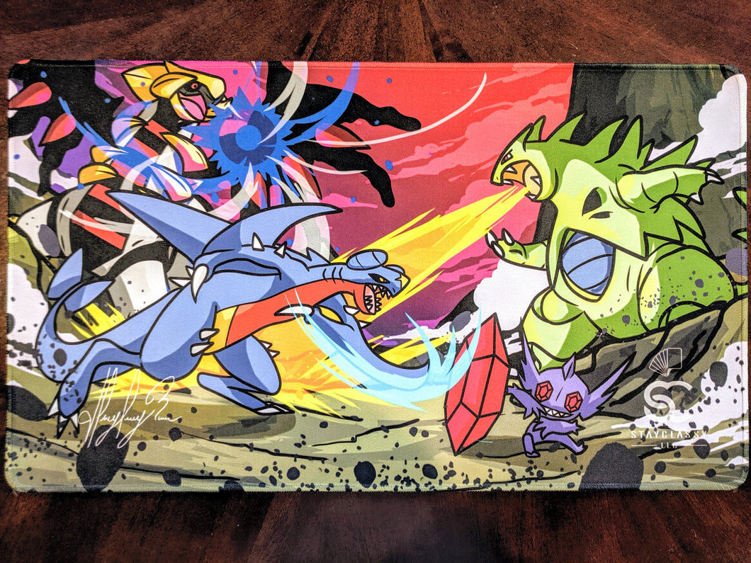 Canyon Brawl (Fan Art) - Playmat