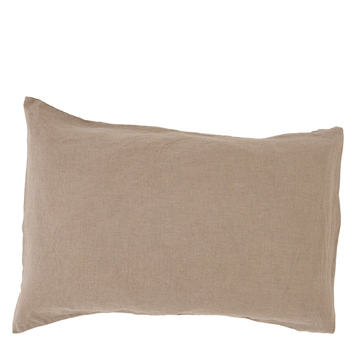 carlotta + gee - standard pillowslip set - natural