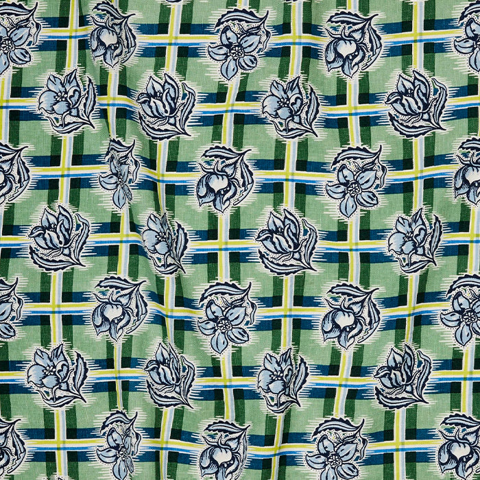 utopia goods - fabric madras garden