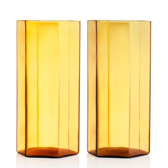 maison balzac coucou glass tall - miel